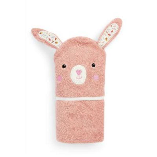 Oferta de Capa de baño con diseño de conejito para bebé niña por 7€