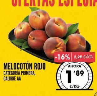 Oferta de Melocoton rojo por 1,89€