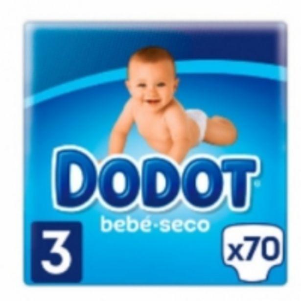 Oferta de Dodot Bebé Seco Pañales Talla 3 por 13,49€