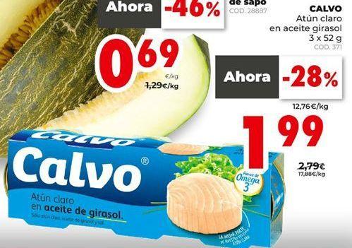 Oferta de Atún claro Calvo por 1,99€