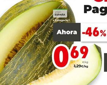 Oferta de Melón por 0,69€