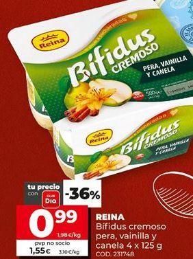 Oferta de Yogur bífidus reina por 0,99€