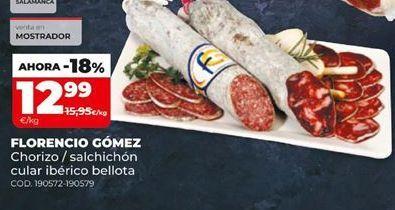 Oferta de Chorizo Florencio Gómez por 12,99€