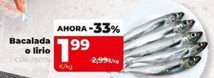 Oferta de Bacalada por 1,99€