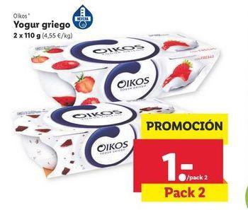Oferta de Yogur griego OIKOS por 1€