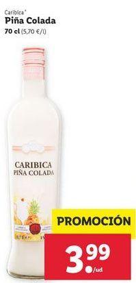 Oferta de Piña colada CARIBICA por 3,99€