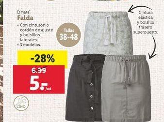 Oferta de Falda Esmara por 5€