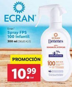 Oferta de Spray FPS 100 Ecran por 10,99€