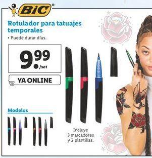 Oferta de Rotulador para tatuajes temporales BIC por 9,99€