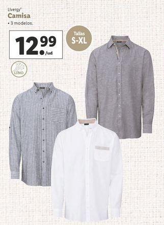 Oferta de Camisa Livergy por 12,99€