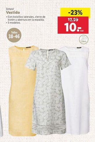 Oferta de Vestido Esmara por 10€