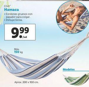 Oferta de Hamaca Crivit por 9,99€