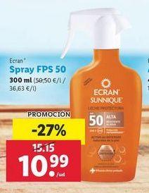 Oferta de Spray FPS 50 Ecran por 10,99€