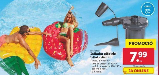 Oferta de Inflador eléctrico SilverCrest por 7,99€