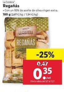 Oferta de Regañás La Cestera por 0,35€