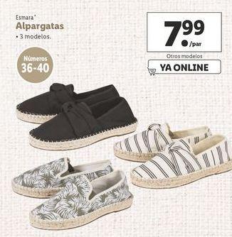 Oferta de Alpargatas Esmara por 7,99€