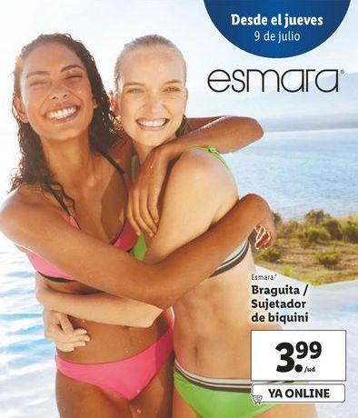 Oferta de Braguitas / sujetador de biquini Esmara por 3,99€