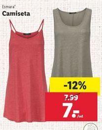 Oferta de Camiseta esmara por 7€