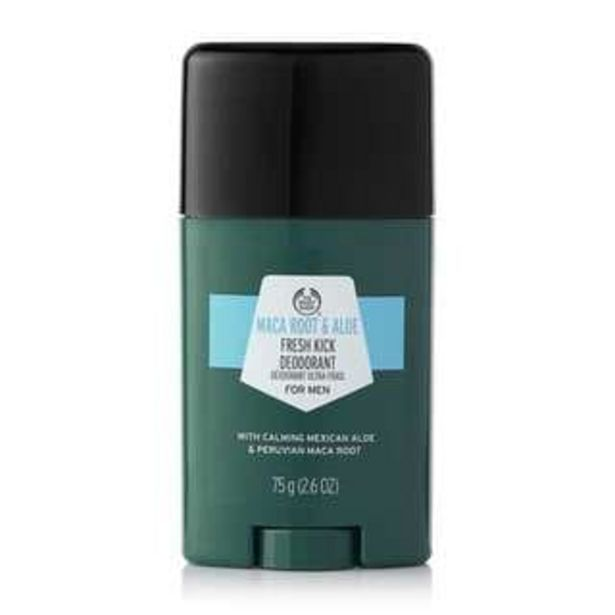 Oferta de Desodorante Refrescante Raíz de Maca y Aloe por 3,5€