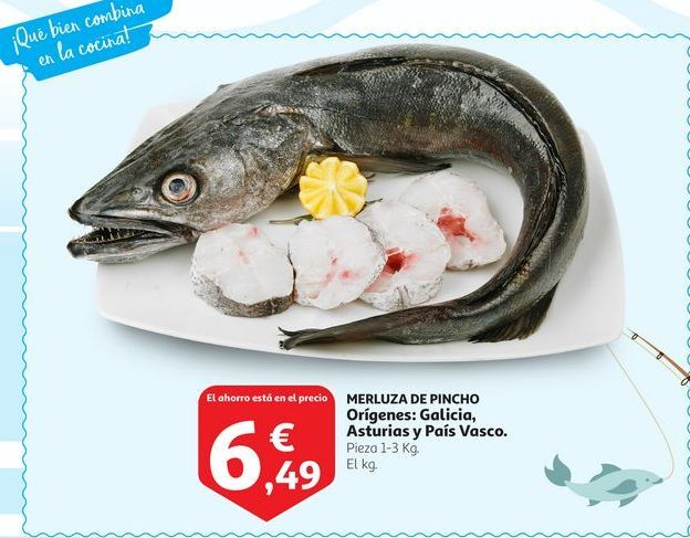 Oferta de Merluza de Pincho por 6,49€