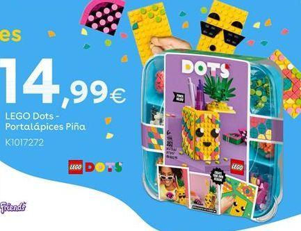 Oferta de LEGO Dots - Portalápices Piña por 14,99€