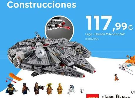 Oferta de LEGO -  Halcón Milenario SW por 117,99€
