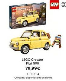 Oferta de LEGO Creator Fiat 500 por 79,99€