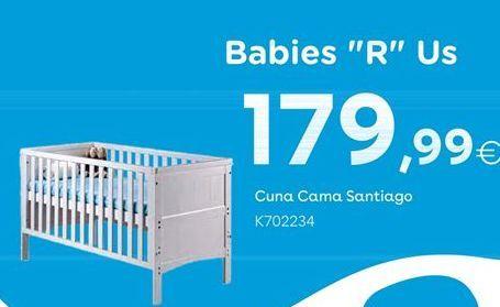 Oferta de BabiesRus Cuna Cama Santiago por 179,99€