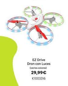 Oferta de EZ  Drive Dron con Luces por 29,99€