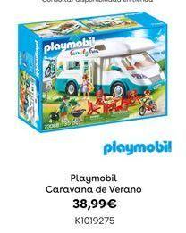 Oferta de Playmobil Caravana de Verano por 38,99€