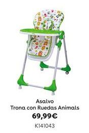 Oferta de Asalvo Trona con Ruedas Animals por 69,99€