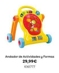 Oferta de Andador de Actividades y Formas por 29,99€