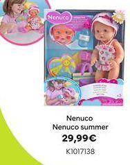 Oferta de Nenuco summer por 29,99€