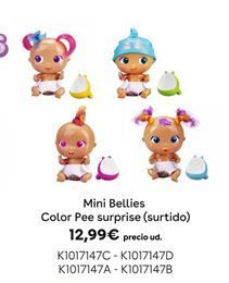 Oferta de Mini Bellies Color Pee surprise /surtido) por 12,99€