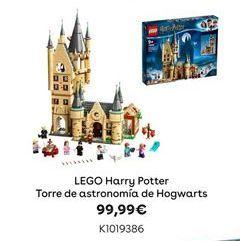 Oferta de LEGO Harry Potter Torre de astronomía de Hogwarts por 99,99€