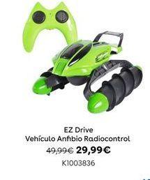 Oferta de EZ Drive Vehículo Anfibio Radiocontrol por 29,99€