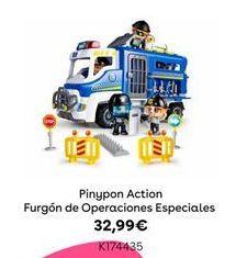 Oferta de PinyPon Action Furgón de Operaciones Especiales por 32,99€