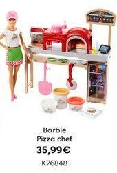 Oferta de Barbie Pizza chef por 35,99€