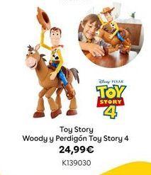 Oferta de Toy Story Woody y Perdigón Toy Story 4 por 24,99€