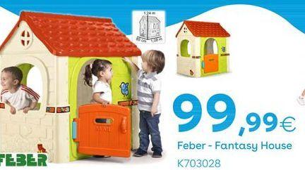 Oferta de FANTASY HOUSE Feber por 99,99€