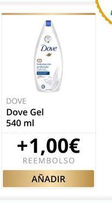 Oferta de Gel de baño Dove por