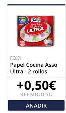 Oferta de Papel de cocina Foxy por