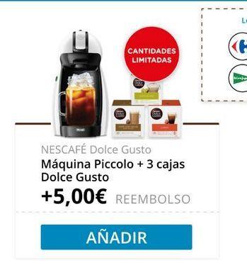 Oferta de Cafetera de cápsulas NESCAFÉ® Dolce Gusto® por