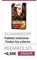 Oferta de Tinte de pelo Palette por