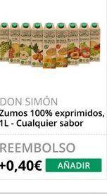 Oferta de Zumo Don Simón por