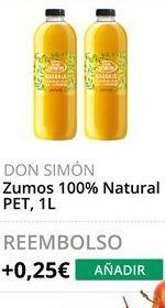 Oferta de Zumo de naranja Don Simón por