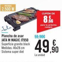 Oferta de Plancha de asar JATA M MAGIC JT950 Jata por 49,9€
