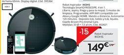 Oferta de Robot aspirador por 149€
