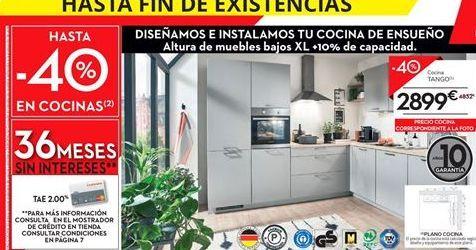 Oferta de Cocinas por 2899€