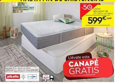 Oferta de Colchones Pikolin por 599€